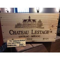 CHÂTEAU LESTAGE 2012, LISTRAC-MÉDOC - i original 6 stk. trækasse