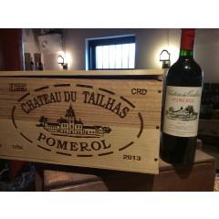 Ch. Du Tailhas 2013 - Pomerol - Bordeaux - i 6 stk. original trækasse