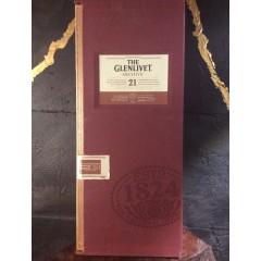 """The Glenlivet """"ARCHIVE"""" 21 years - Uåbnet original trækasse"""