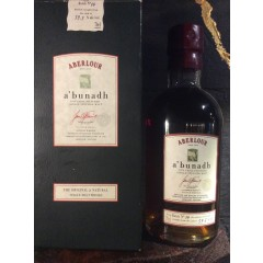 "Aberlour - ""A'bunadh"" - Speyside - Org. gl. box. laves ikke mere."