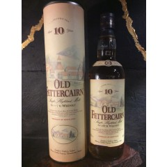 Old Fettercairn - 10 year - Highland single malt - In a old box, which not done anymore