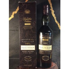 "Talisker ""Distillers Edition"" 1991 - Double Matured. Original old box style."