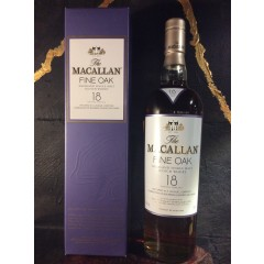 "The MacAllan ""Fine Oak"" - 18 års"