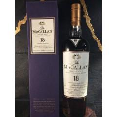 The MacAllan - 18 års - 1986 - Sherry cask