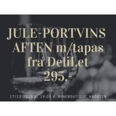 JULESMAGNING D. 17 DECEMBER 2020 MED ELEGANTE PORTVINE OG TAPAS FRA DELILET, LAURBJERG