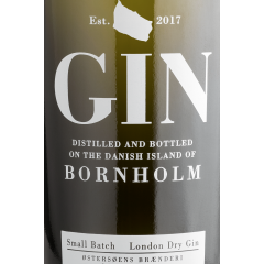 Small Batch London dry Gin - Bornholm