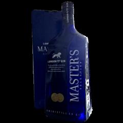 3 liters Masters London Dry Gin i Flot Gavekrt.