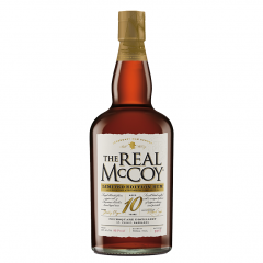 THE REAL MCCOY RUM - LIMITED EDITION AGED 10 YEARS