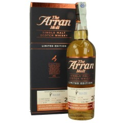 SILVER SEAL ARRAN LIMITED EDITION 1996 20 YEARS OLD WHISKY