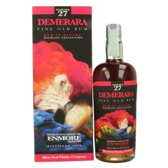 SILVER SEAL DEMERARA 1988 ENMORE DISTILLERY GUYANA - 27 YEARS OLD RUM