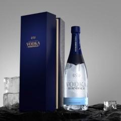 Vodka fra Bornholm (i flot gaveæske)